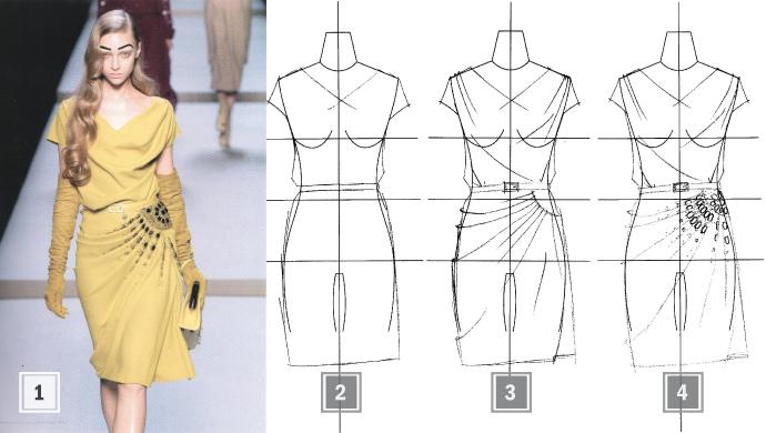 Эскизы одежды в корел 45